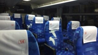 JR高速バスは障害者割引で半額。実際に夜行で利用してみた